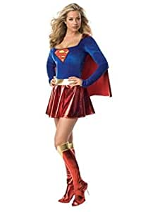 SSD Déguisement de Superwoman Supergirl pour femme Taille M 36/38
