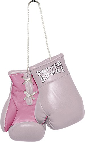 Paffen Sport COLOUR Mini Boxhandschuhe – Anhänger fürs Auto – rosa/pink