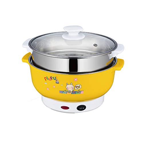 Provide The Best Multifonctions Cuisinière électrique Mini Chauffage Pan en Acier Inoxydable Hotpot Nouilles de Riz Vapeur œufs cuits à la Vapeur marmite à Soupe
