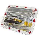 PrimeMatik - Miroir Convexe de signalisation de sécurité de Forme rectangulaire...