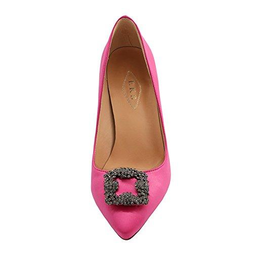 Pumps High Spitze Stilett Heels Partei Schuhe Pink Eks Strass Damen qIRwpp