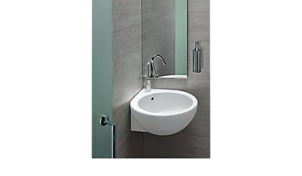 Lavandini Bagno Salvaspazio : Sanitari bagno you&me lavabo ad angolo sospeso o appoggio montaggio