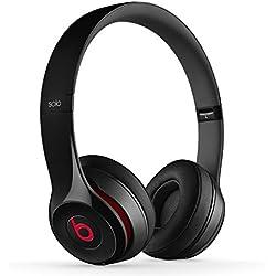 [Inalámbrico] Beats by Dr. Dre Solo2 - Auriculares con diadema, 3.5 mm, alámbrico, color negro