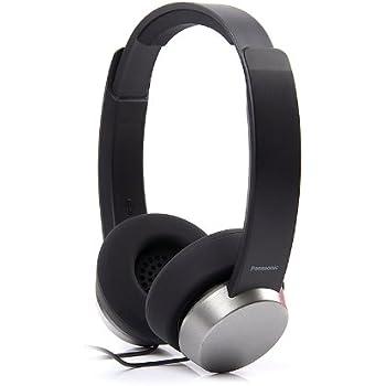 Panasonic RP-HXD3E-K On-Ear Headphone (Black)