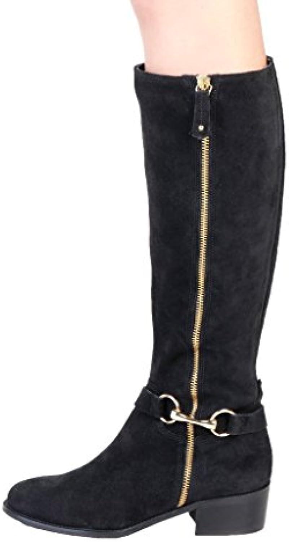 Pierre Cardin Damen 4105215 Leder Hohe Stiefel Ferse 4.5 cm -