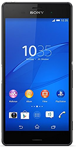 Sony Xperia Z3 Smartphone (13,2 cm (5,2 Zoll) Full-HD-TRILUMINOS-Display, 2,5 GHz-Quad-Core-Prozessor, 20,7 Megapixel-Kamera, Android 4.4) schwarz [T-Mobile Branding]