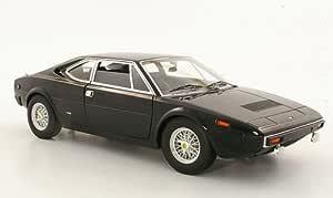 Ferrari Dino 308 Gt4 Schwarz Owned By Elvis Presley Modellauto Fertigmodell Mattel Elite 1 18 Spielzeug
