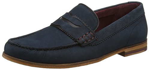Mocassino Ted Baker Men Mocasin 3, Blu Blu (blu Scuro)