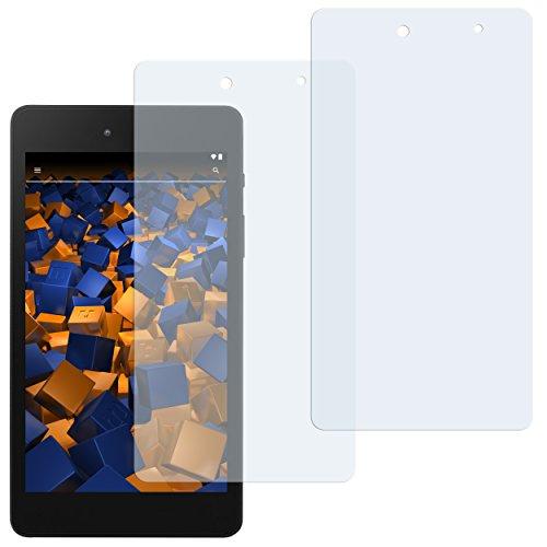 mumbi Schutzfolie kompatibel mit Medion E6912 E-Tab Folie klar, Displayschutzfolie (2x)