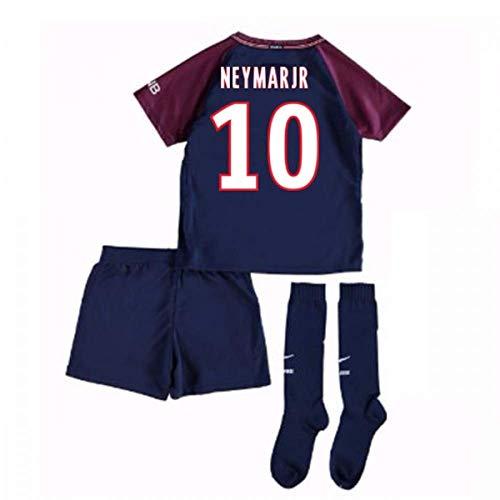 UKSoccershop 2017-18 PSG Home Mini Kit (Neymar Jr 10) -