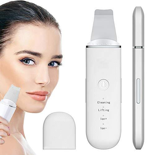 Skin Scrubber, Aibeau Ultraschall Gesichts Haut Scrubber Ultraschallpeelinggerät Mitesserentferner Elektrischer Poren Reiniger Gerät Mitesser Entferner für Gesichtsreinigung