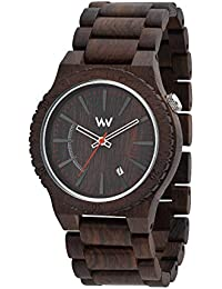 Wooden Watch Wewood Kappa Mb Steel Dial Black Blue 70363309 Armband- & Taschenuhren