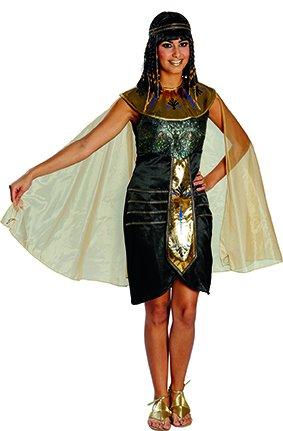 Rubie's NEU Damen Kostüm Ägypterin schwarz-Gold Gr.42
