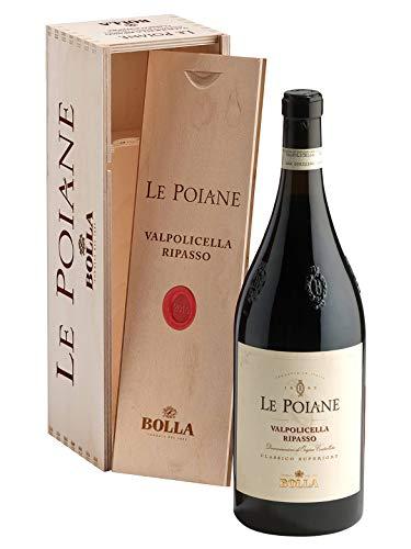 LE POIANE Valpolicella Ripasso DOC Classico Superiore - Bolla - Vino rosso fermo 2016 - Bottiglia 1,5 Lt