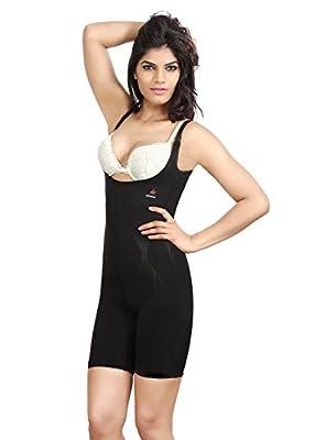 Adorna Body Slimmer - Black Ladies Shapewear