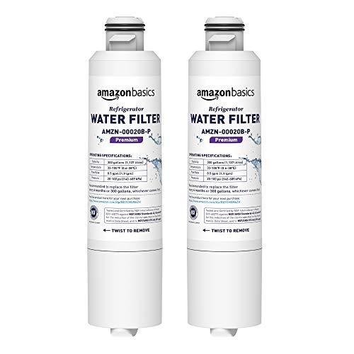 AmazonBasics Filtre à eau de rechange pour réfrigérateur Samsung DA29-00020B - Filtration Premium