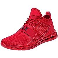 Calzado Deportivo de Exterior de Hombre, Zapatos de Gimnasia para Caminar de Peso Ligero Zapatillas de Deporte,Transpirables Malla Casual Zapatos,Desodorante,Sudor,Zapatos de Secado rapido