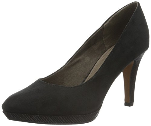 s.Oliver Damen 22406 Pumps, Schwarz (Black 1), 40 EU