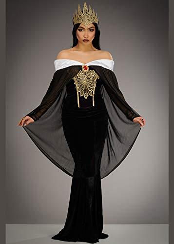 Schneewittchen Deluxe Kostüm - Magic Box Int. Womens Schneewittchen Stil Deluxe Wicked Queen Kostüm L (UK 12-14)