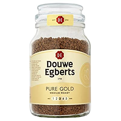 Douwe Egberts Pure Gold Instant Coffee 190 g (Pack of 2) from JAGP5