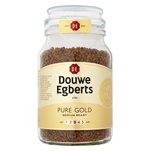 Douwe Egberts Pure Gold Instant Coffee 190 g (Pack of 2) 418OOWaVBlL