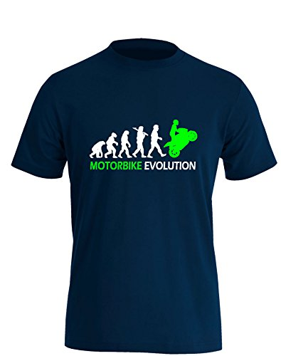 Motorbike Evolution - Herren T-Shirt in Größe L