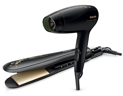 Philips HP8646 Kerashine Dryer and Straightener (Black)