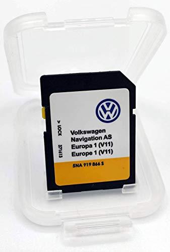 Karte SD Update VW Navigation AS Europa 1 V11 MIB2 / Discover Media MIB2 / 5NA 919 866 S