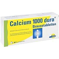 CALCIUM 1000 dura Brausetabl 40 St Brausetabletten preisvergleich bei billige-tabletten.eu