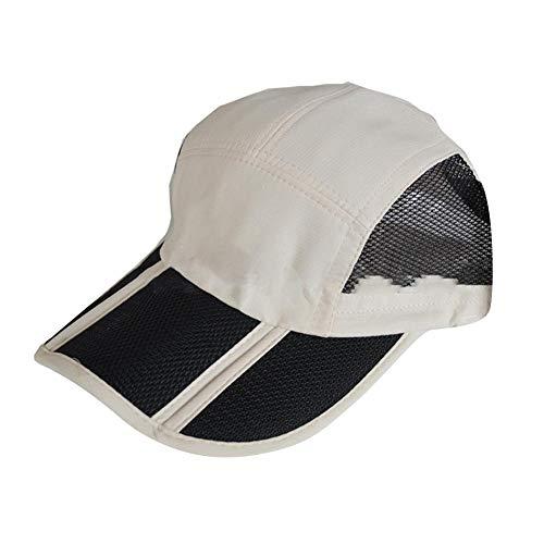dream-cool Kühlender Eimer-Hut - Wärmeableitungs-Baseballmützen, Sommer-Faltbare Sonnenschutz-Kühlluftkappe im Freien, Sonnenschutz-Hut-schnell trocknende Sport-Hüte für Männer Frauen