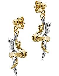 Jourdan - JS653   Boucles d oreille Femme Métal doré - Fabriqué ... 0d53dcdbf5fa