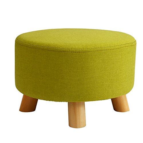 LJHA Tabouret pliable Repose-pieds en bois massif/tabouret bas/enfants petit banc/salon canapé tabouret/Foyer changement chaussures tabouret (42 * 26cm) chaise patchwork (Couleur : B)