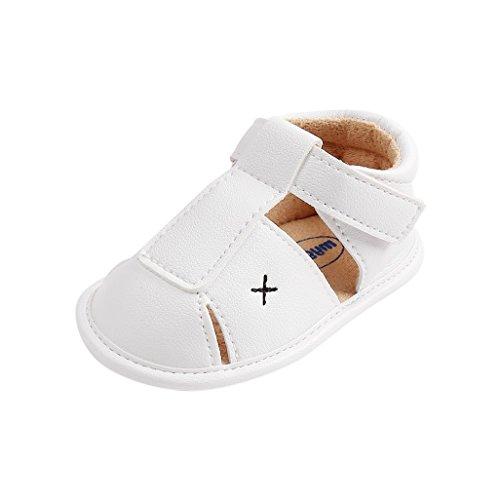 Zapatos de bebé por 3-18 Meses, Auxma Sandalias de niños, Zapatos Antideslizantes para bebés, Zapatos...