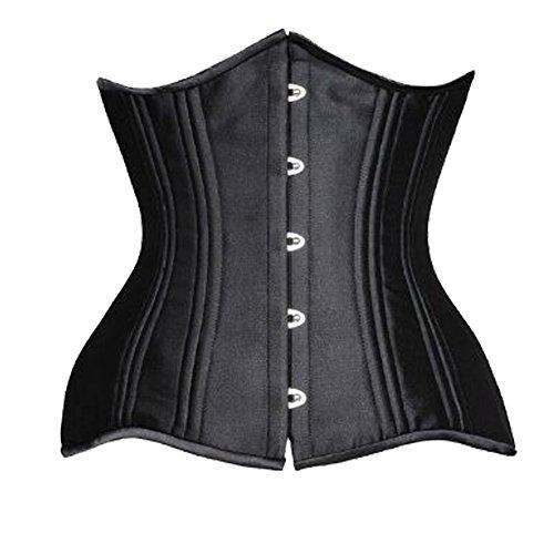 ZAMME Damen Instant Shape Stahl Bone Unterbrust (Kostüme Vampir Instant)