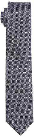 OTTO KERN Herren Krawatte, gepunktet 10000 / 21082, Gr. one size, Blau (310 marine)