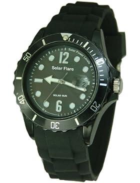Lifemax Protuberanz 1355GB Armbanduhr, Schwarz