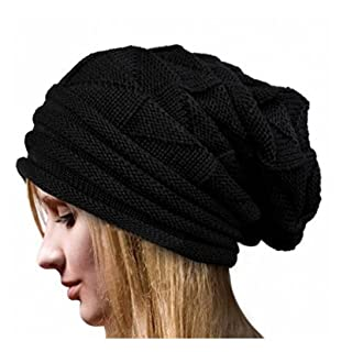 Arpoador Erwachsene Lady Winter Warm Winddicht Hat Fashion Wild Hat Dekoration, Schwarz, 1