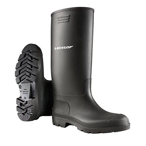 Dunlop Herren Stiefel, Schwarz, 45 EU