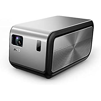 JMGO J6S 1080P 4k Projector with Android OS, 1100 ANSI ( 7000 lumens ) Home Cinema Projector, DLP Smart Projectors Support 3D Video, Dual 10W Bluetooth Stereo Speakers