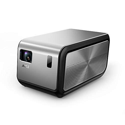 JMGO J6S 1080P 4K HD Beamer mit Android-System, Tragbarer Heimkino projektor mit 1100 ANSI-Lumen (7000 Lumen), intelligente DLP-Projektoren, 3D- und 4K-Video-Unterstützung