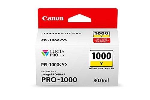 Preisvergleich Produktbild CANON PFI-1000y Tinte gelb Standardkapazität 80ml 1er-Pack iPF1000