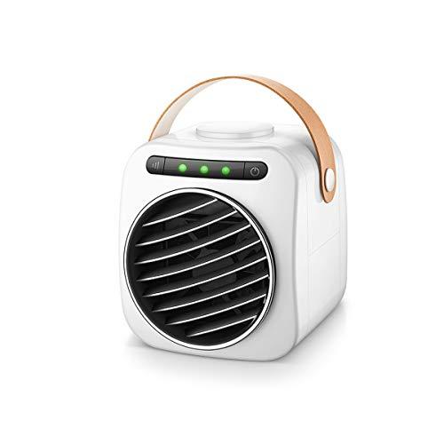 TONGBOSHI Ventilator, kleine Klimaanlage, tragbarer Mini-USB-Tischventilator, Studentenbett-Mikro-Luftkühler im Schlafsaal verwendet, um kalte Luft im Sommer zu blasen, (Edition : A)