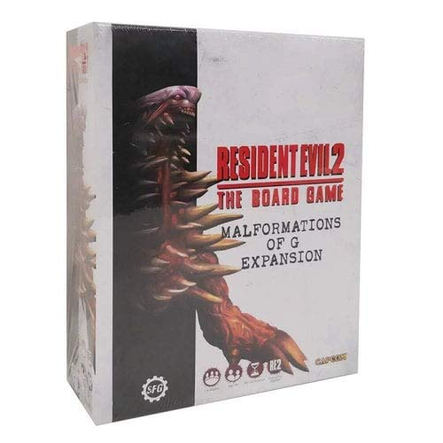 Unbekannt Resident Evil 2: The Board Game - Malformations of G Core Game Expansion - English