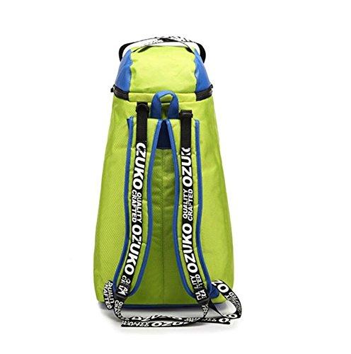 Z&N Wasserdichtes Oxford Tuch modische männliche Tasche kreative Outdoor Bergsteigen Tasche Freizeit Reise Rucksack große Kapazität Laptop Rucksack Schule Sport Rucksack C