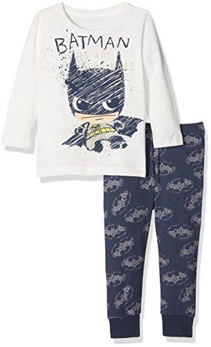 NAME IT Baby-Jungen Zweiteiliger Schlafanzug Nmmbatman Mike Nightset Wab Noos, Blau (Dress Blues Dress Blues), 98