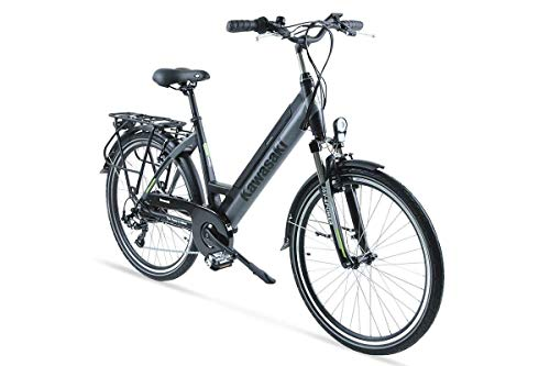 Kawasaki Bicicleta ELECTRICA TRECKING Lady
