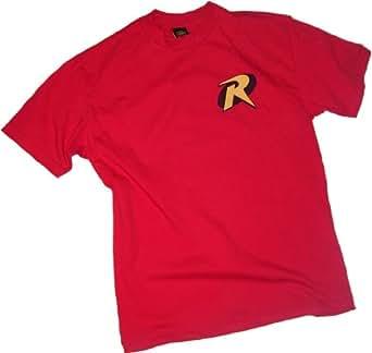 Robin Logo -- Batman & Robin Erwachsener T-Shirt, XXXL