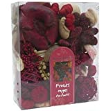 Sentiflore 6DPO025 Pot Pourri de Décoration Fruits Rouges