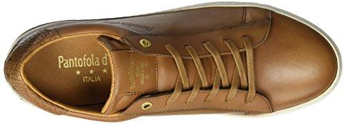 Pantofola d'Oro Herren Firenze Uomo Low Sneaker Braun (Tortoise Shell)
