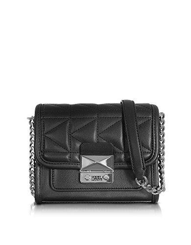 karl-lagerfeld-mujer-71kw3047black-negro-cuero-bolso-de-hombro